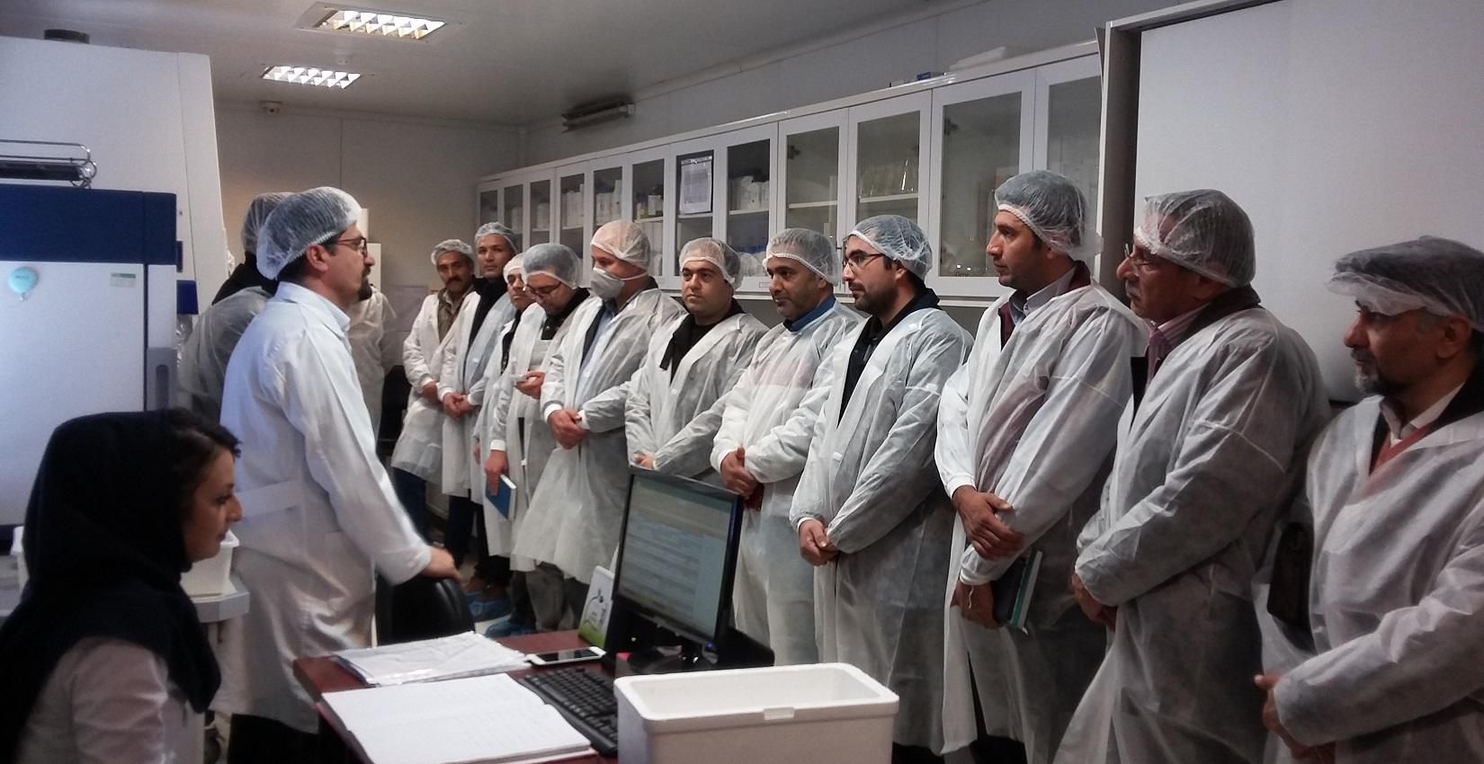 Visit of some major producers of greenhouse products of Alborz province from Biorun Factory