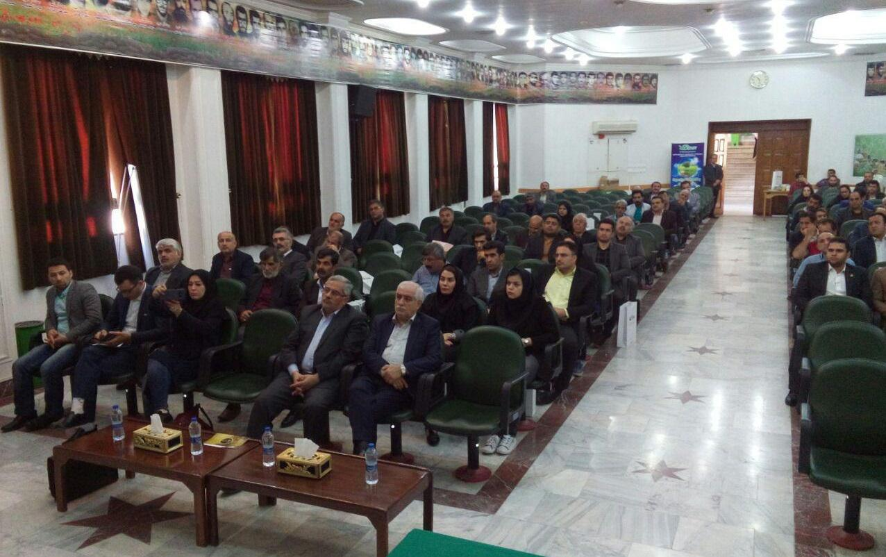 Participation in conferences on the introduction and extension of manure products in Iran